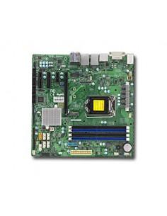 Supermicro X11SSQ Intel® Q170 LGA 1151 (uttag H4) micro ATX Supermicro MBD-X11SSQ-O - 1