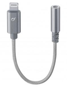Cellularline MUSICENABLERMFID kaapeli liitäntä / adapteri Lightning 3.5mm Hopea Cellularline MUSICENABLERMFID - 1