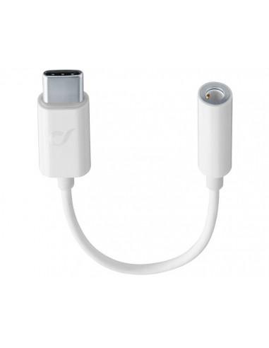 Cellularline MUSICENABLERTYPECW audiokaapeli 0.15 m USB C 3.5mm Valkoinen Cellularline MUSICENABLERTYPECW - 1