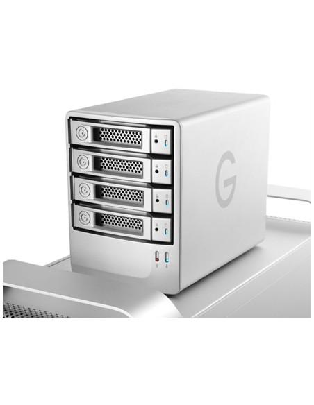 G-Technology G-SPEED eS levyjärjestelmä 8 TB Työpöytä Hopea G-technology 0G01872 - 4