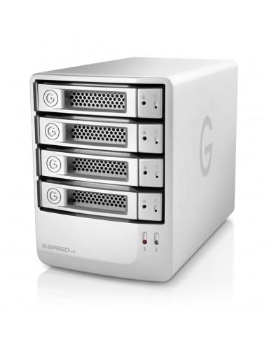 G-Technology G-SPEED eS levyjärjestelmä 16 TB Työpöytä Hopea G-technology 0G02322 - 1