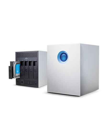 LaCie 5big Thunderbolt 2 levyjärjestelmä 10 TB Työpöytä Valkoinen Lacie STFC10000400 - 2