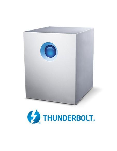 LaCie 5big Thunderbolt 2 levyjärjestelmä 10 TB Työpöytä Valkoinen Lacie STFC10000400 - 6