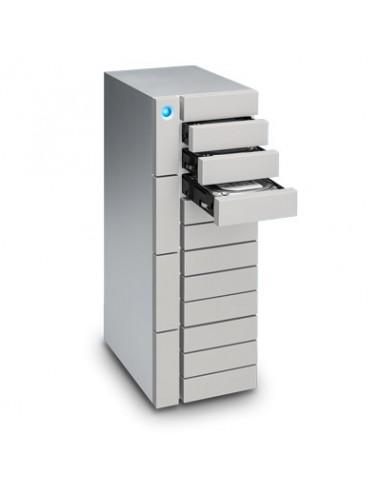 LaCie 12big Thunderbolt 3 levyjärjestelmä 12 TB Työpöytä Hopea Lacie STFJ120000400 - 1