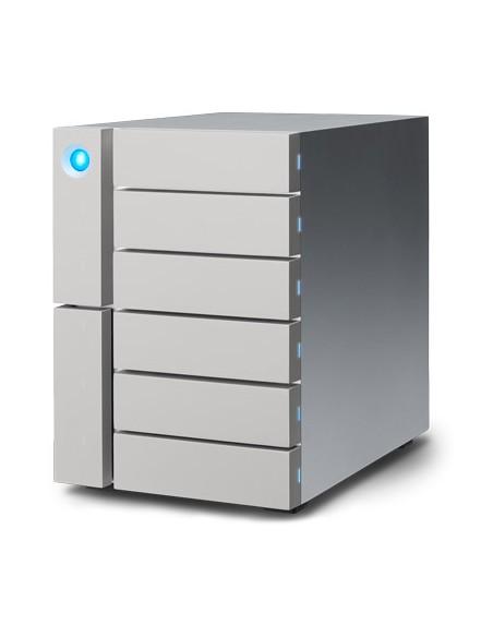 LaCie 6big Thunderbolt 3 levyjärjestelmä 60 TB Työpöytä Hopea Lacie STFK60000400 - 3
