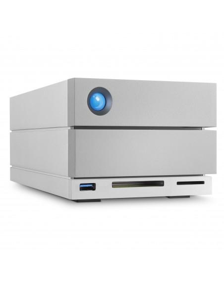 LaCie 2big Dock Thunderbolt 3 16TB levyjärjestelmä Työpöytä Hopea Lacie STGB16000400 - 4