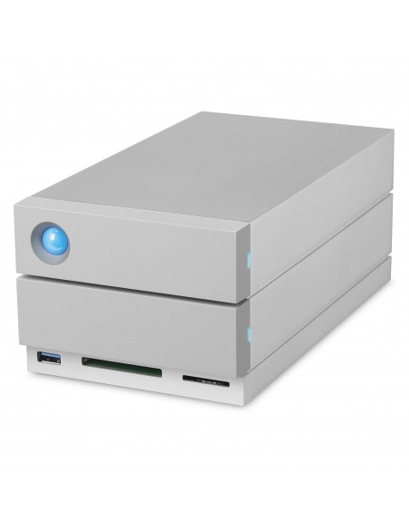 LaCie 2big Dock Thunderbolt 3 16TB levyjärjestelmä Työpöytä Hopea Lacie STGB16000400 - 5