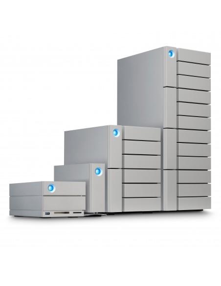 LaCie 2big Dock Thunderbolt 3 levyjärjestelmä 20 TB Työpöytä Harmaa Lacie STGB20000400 - 8