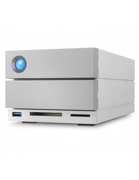 LaCie 2big Dock Thunderbolt 3 levyjärjestelmä 8 TB Työpöytä Harmaa Lacie STGB8000400 - 5