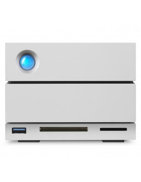 LaCie 2big Dock Thunderbolt 3 levyjärjestelmä 8 TB Työpöytä Harmaa Lacie STGB8000400 - 6