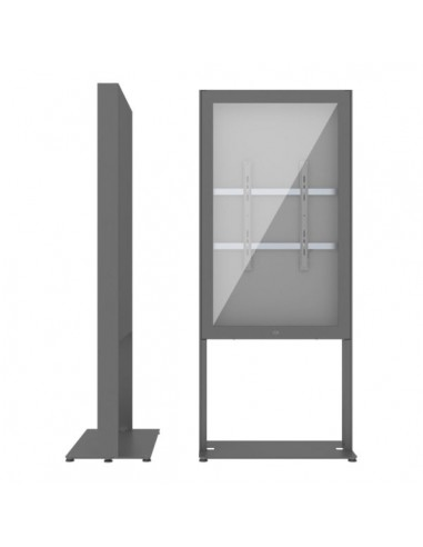 """SMS Smart Media Solutions 43P Casing Freestand Basic G2 DG 109.2 cm (43"""") Grå Sms Smart Media Solutions 702-001-22 - 1"""