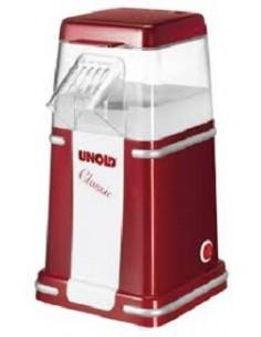 Unold Classic popcornkone Punainen, Hopea, Valkoinen 900 W Unold 48525 - 1