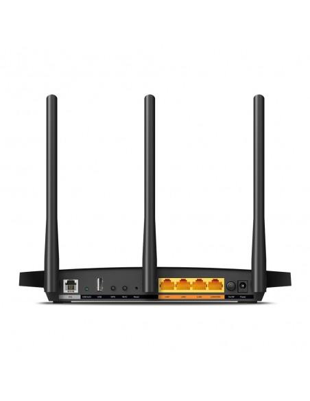 TP-LINK Archer VR400 langaton reititin Kaksitaajuus (2,4 GHz/5 GHz) Gigabitti Ethernet Musta Tp-link ARCHER-VR400 - 3