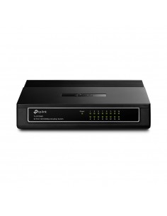 TP-LINK 16-Port 10/100Mbps Desktop Switch Hallitsematon Fast Ethernet (10/100) Valkoinen Tp-link TL-SF1016D - 1
