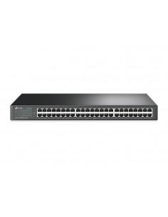 TP-LINK TL-SF1048 verkkokytkin Hallitsematon Gigabit Ethernet (10/100/1000) Musta 1U Tp-link TL-SF1048 - 1