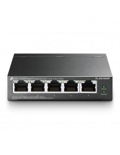 TP-LINK TL-SG1005P verkkokytkin Hallitsematon Gigabit Ethernet (10/100/1000) Musta Power over -tuki Tp-link TL-SG1005P - 1