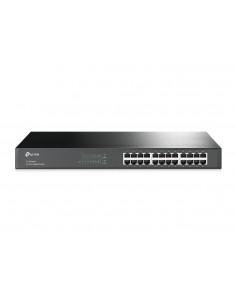 TP-LINK TL-SG1024 verkkokytkin Hallittu L2 Gigabit Ethernet (10/100/1000) Musta Tp-link TL-SG1024 - 1