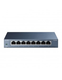 TP-LINK TL-SG108 verkkokytkin Hallitsematon Musta Tp-link TL-SG108 - 1