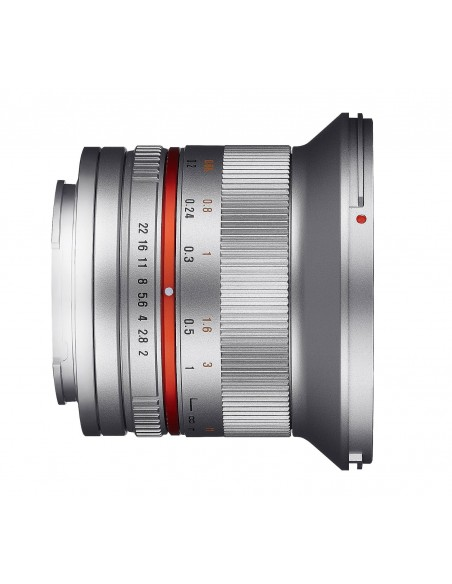 Samyang 12mm F2.0 NCS CS SLR Laajakulmaobjektiivi Hopea Samyang 21573 - 2