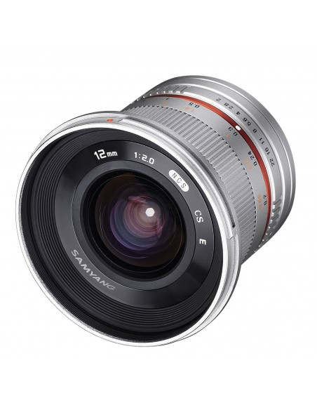 Samyang 12mm F2.0 NCS CS SLR Laajakulmaobjektiivi Hopea Samyang 21573 - 3
