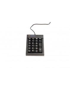 BakkerElkhuizen Goldtouch näppäimistö USB Numeerinen Musta Bakkerelkhuizen BNEGTBNUM - 1