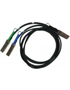 Mellanox Technologies MCP7H50-H001R30 InfiniBand-kaapeli 1 m QSFP56 2x Musta Mellanox Hw MCP7H50-H001R30 - 1