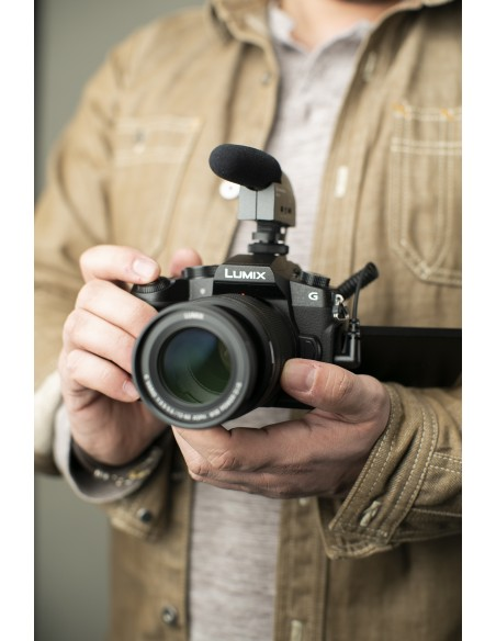 Sennheiser MKE 400 Digital camcorder microphone Musta Sennheiser 502047 - 5