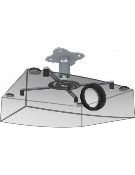 SmartMetals 002.2440 projektorin kiinnike Katto Harmaa, Hopea Smartmetals 002.2440 - 3