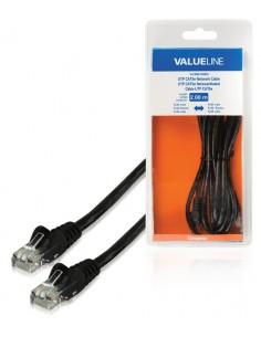 Valueline 2m CAT5e RJ-45 m/m verkkokaapeli U/UTP (UTP) Musta Valueline VLCB85100B20 - 1