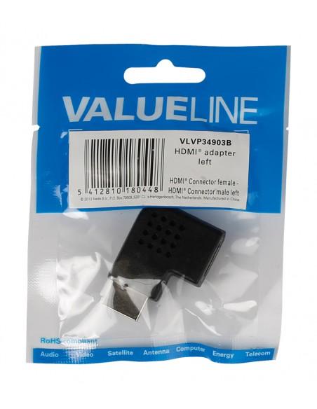 Valueline HDMI m/f Musta Valueline VLVP34903B - 3