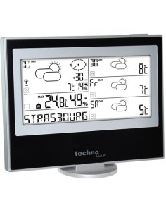 Technoline WM 5200 digitaalinen sääasema Musta, Hopea Technoline WM 5200 - 1