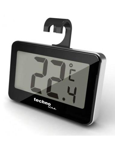 Technoline WS 7012 kodinkoneiden lämpömittari Sähkökäyttöinen ympäristön Musta Technoline WS 7012 - 1