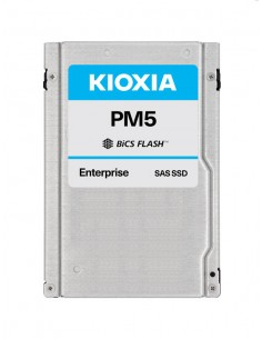 """Kioxia PM5-V 2.5"""" 1600 GB SAS 3D TLC Kioxia KPM51VUG1T60 - 1"""