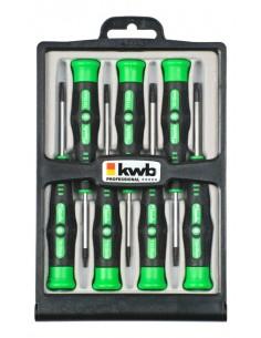 kwb 146400 käsikäyttöinen ruuvimeisseli Setti Tarkkuusruuvimeisseli Kwb 146400 - 1