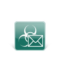 Kaspersky Lab Security for Mail Server, 20-24U, 3Y, GOV Julkishallinnon lisenssi (GOV) 3 vuosi/vuosia Kaspersky KL4313XANTC - 1