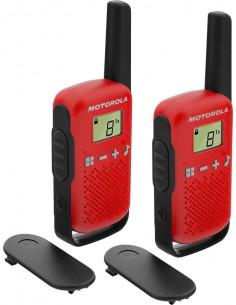 Motorola TALKABOUT T42 radiopuhelin 16 kanavaa Musta, Punainen Motorola 188118 - 1