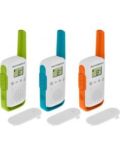 Motorola TALKABOUT T42 radiopuhelin 16 kanavaa Sininen, Vihreä, Oranssi, Valkoinen Motorola 188119 - 1