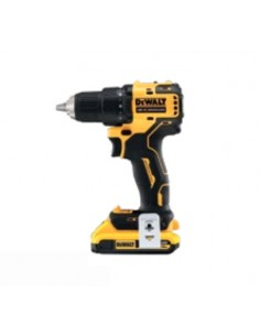 DeWALT DCD708D2T-QW power screwdriver/impact driver 1650 RPM Black, Yellow Dewalt DCD708D2T-QW - 1