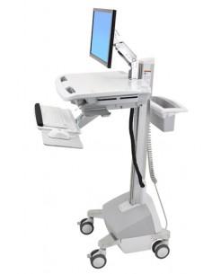 Ergotron SV42-6202-C multimedia cart/stand Aluminium, Grey, White Flat panel Ergotron SV42-6202-C - 1