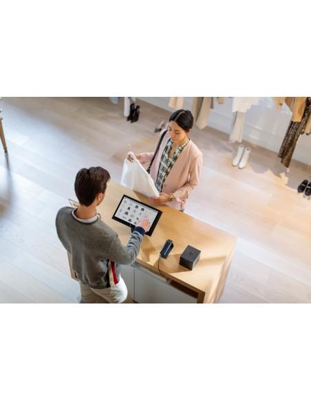 "HP Engage One 143 All-in-One 2.4 GHz i3-7100U 35.6 cm (14"") 1920 x 1080 pikseliä Kosketusnäyttö Musta Hp 6TP98EA#UUW - 7"