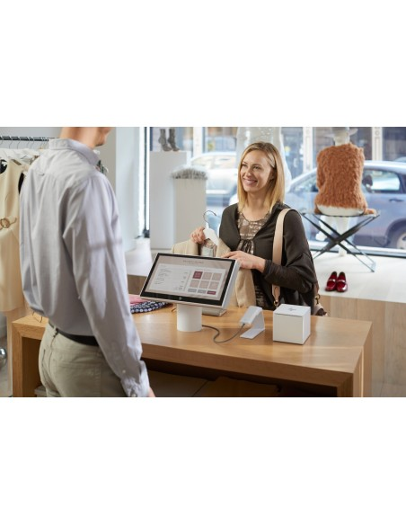 """HP Engage One 143 All-in-One 2.4 GHz i3-7100U 35.6 cm (14"""") 1920 x 1080 pixels Touchscreen Black Hp 6TP98EA#UUW - 8"""