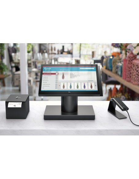 """HP Engage One 143 All-in-One 2.4 GHz i3-7100U 35.6 cm (14"""") 1920 x 1080 pixels Touchscreen Black Hp 6TP98EA#UUW - 16"""
