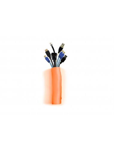 Multibrackets M Universal Cable Sock Self Wrapping 40mm Orange 25m Multibrackets 7350073734559 - 1