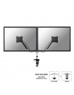 """Newstar FPMA-D950D monitorin kiinnike ja jalusta 68.6 cm (27"""") Puristin/Läpipultattu Hopea Newstar FPMA-D950D - 1"""