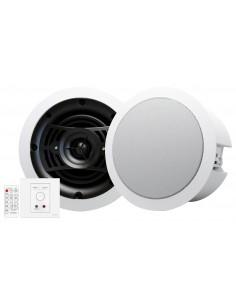 Vision TC3-AMP+CS-1800 kaiutin 2-suuntainen Valkoinen Langallinen Vision TC3-AMP+CS-1800 - 1