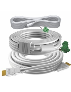 Vision TC3-PK15MCABLES VGA cable 15 m (D-Sub) White Vision TC3-PK15MCABLES - 1