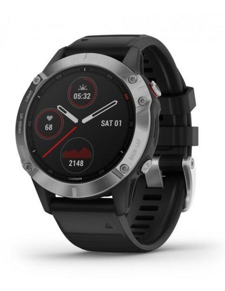 """Garmin fēnix 6 3.3 cm (1.3"""") Musta, Metallinen GPS (satelliitti) Garmin 010-02158-00 - 1"""