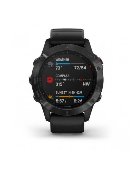 "Garmin fēnix 6 Pro 3.3 cm (1.3"") Black GPS (satellite) Garmin 010-02158-02 - 4"