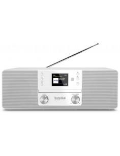 TechniSat 370 CD BT Personal Analog och digital Vit Technisat 0001/3948 - 1