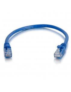 C2G 0.5m Cat6 Booted Unshielded (UTP) Network Patch Cable - Blue C2g 83385 - 1
